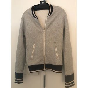 JCREW Varsity Zip up Jacket